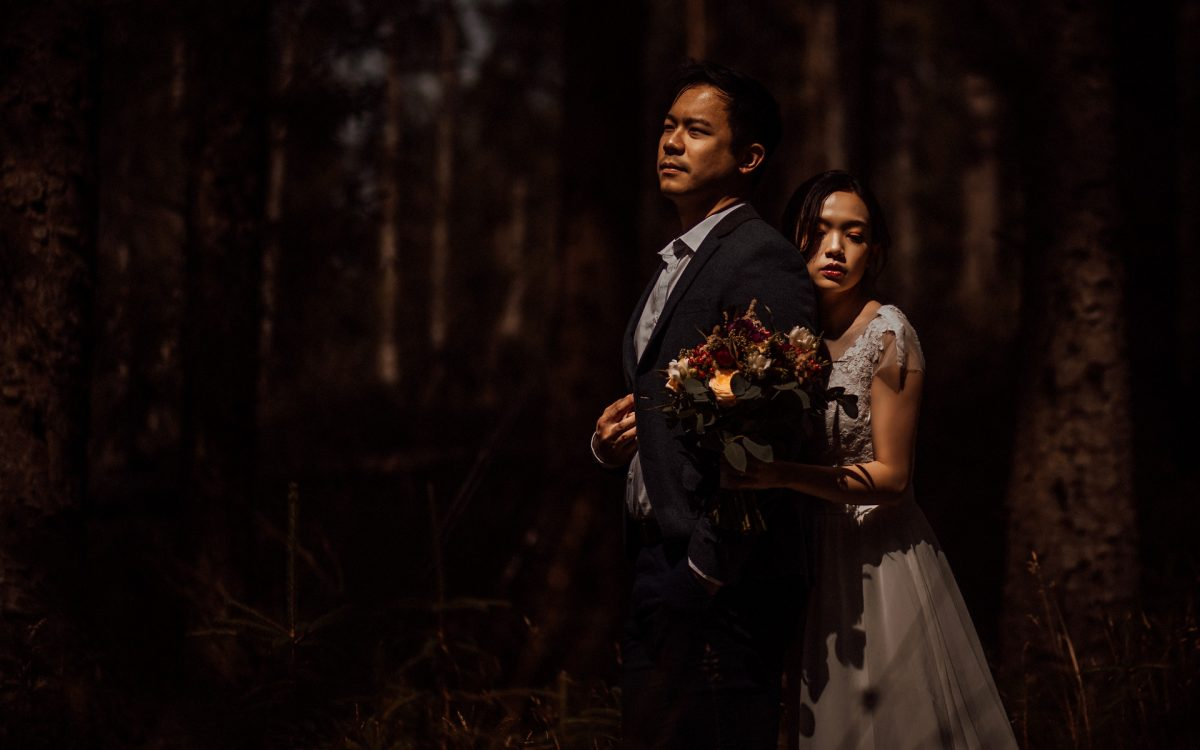 Creative Chinese wedding photography uk