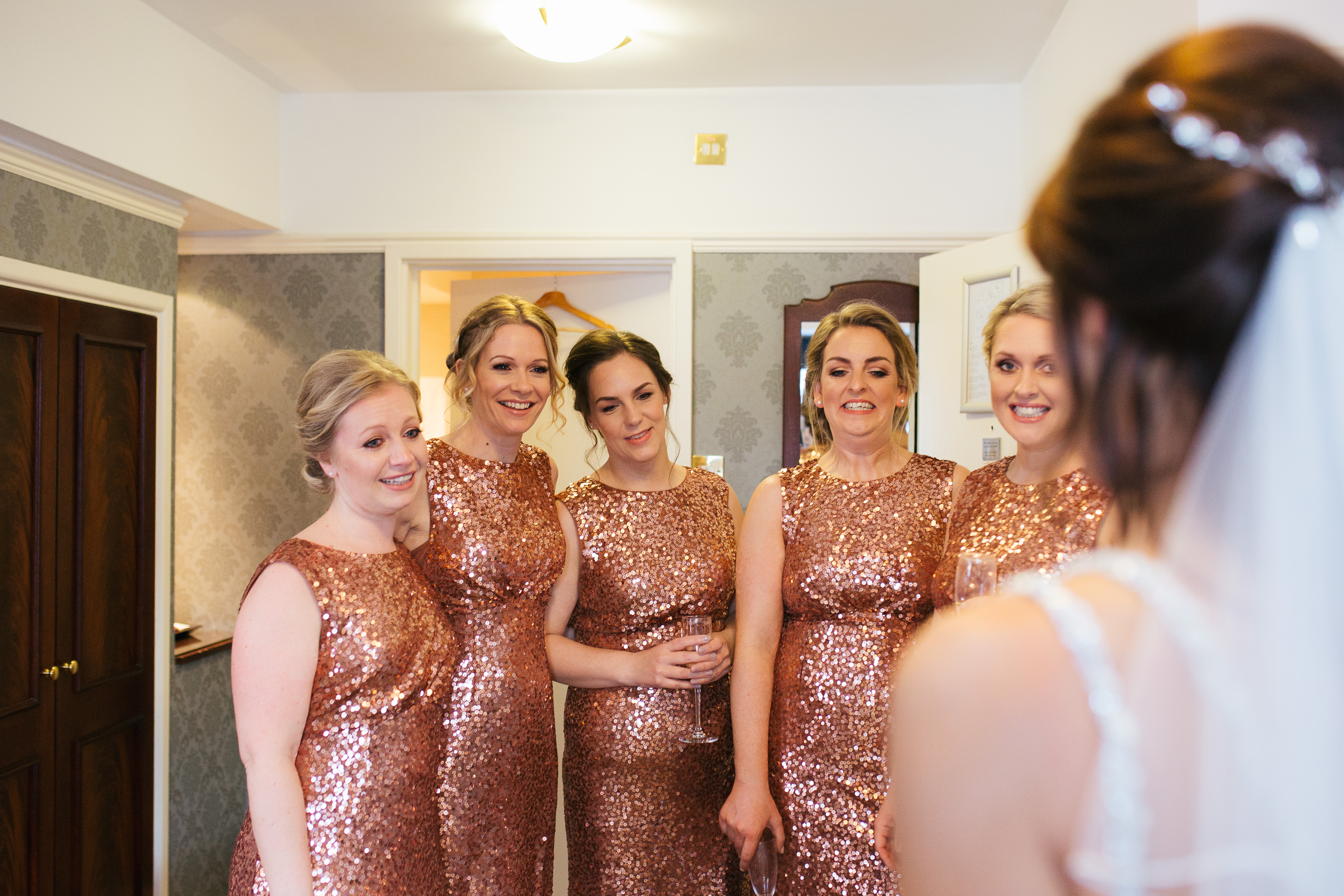 The Normans bridesmaids