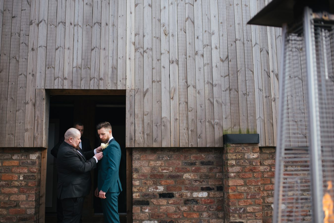 Groom-at-The-Normans-Weddings