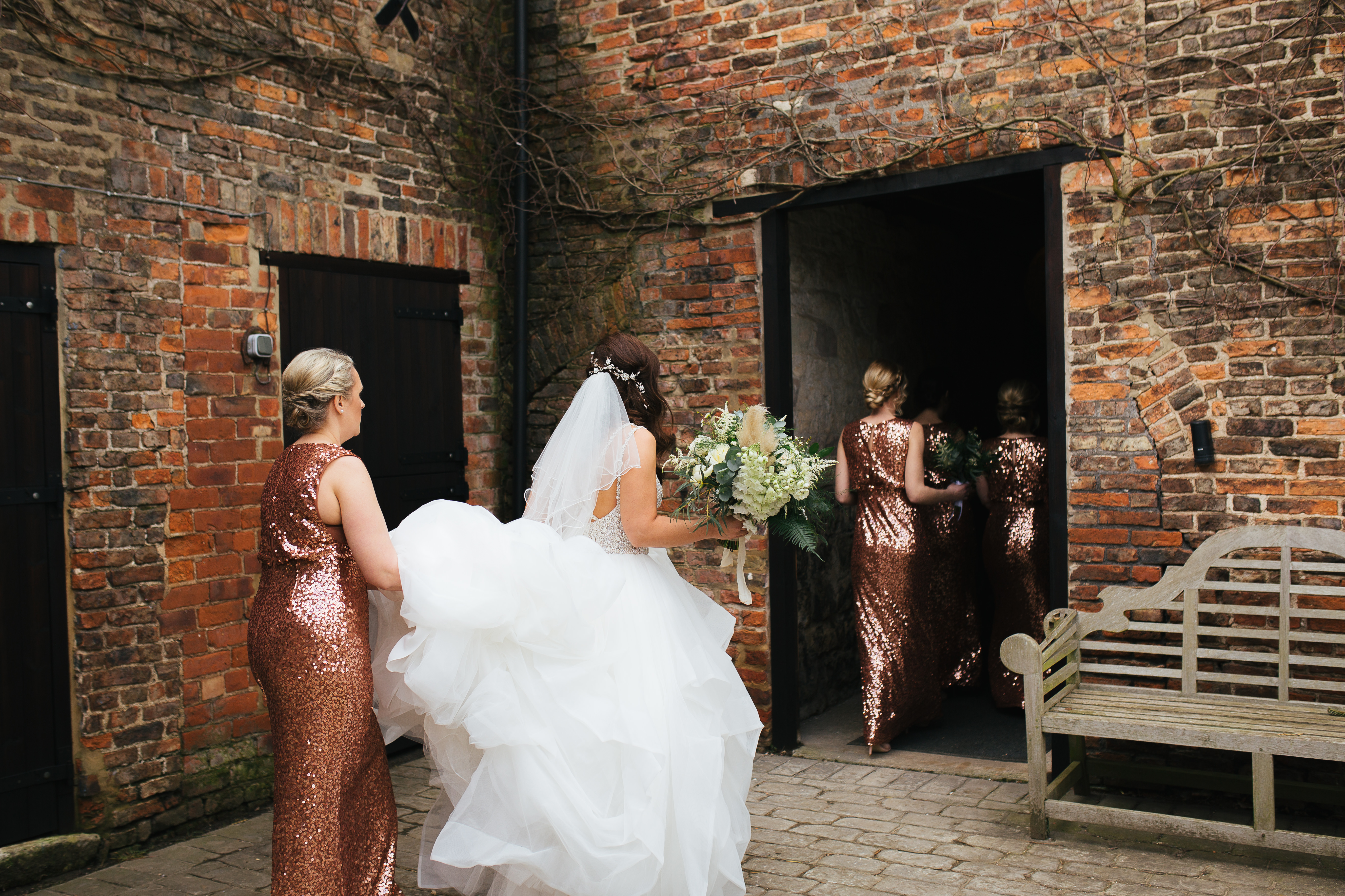 Bridal party the Normans weddings 2019