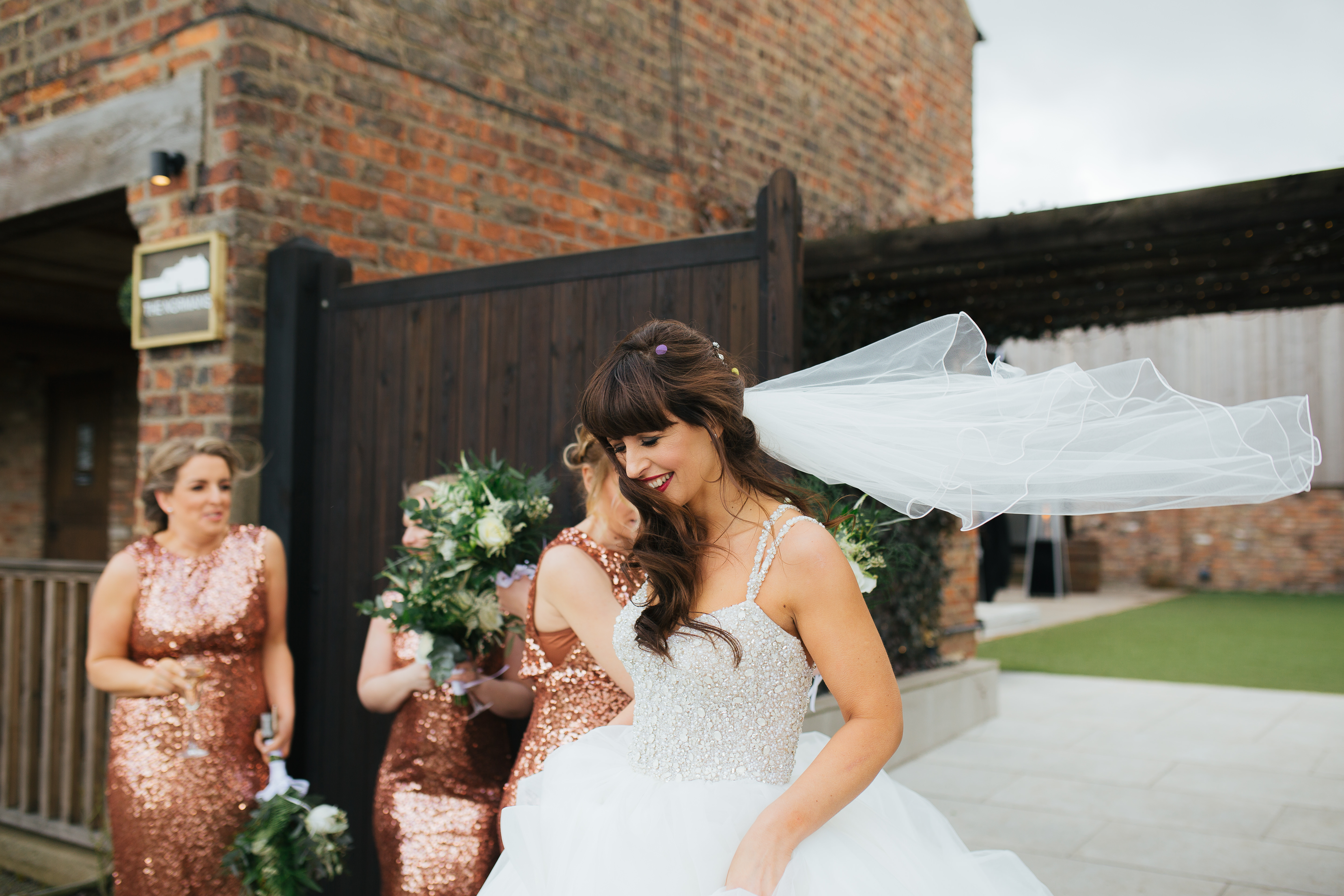 Bridesmaids at the Normans Leeds 2019