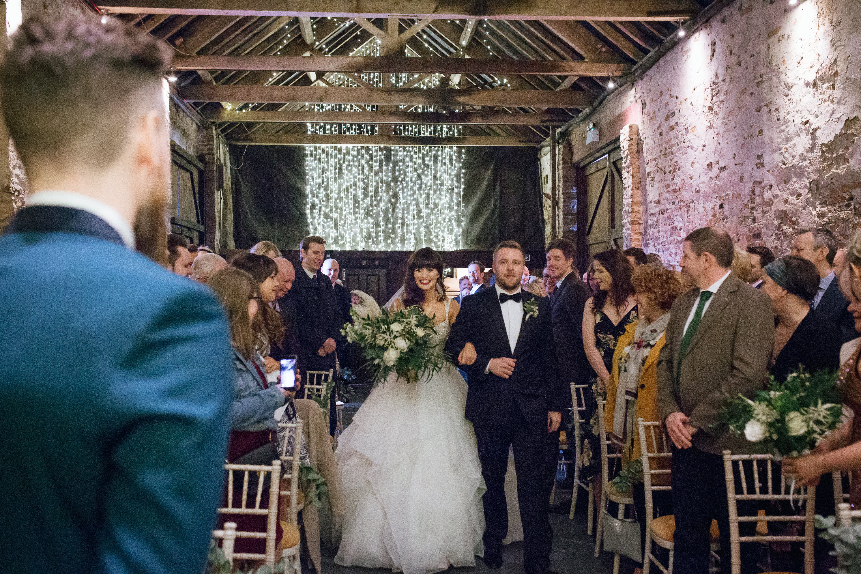 The Normans wedding ceremony 2019