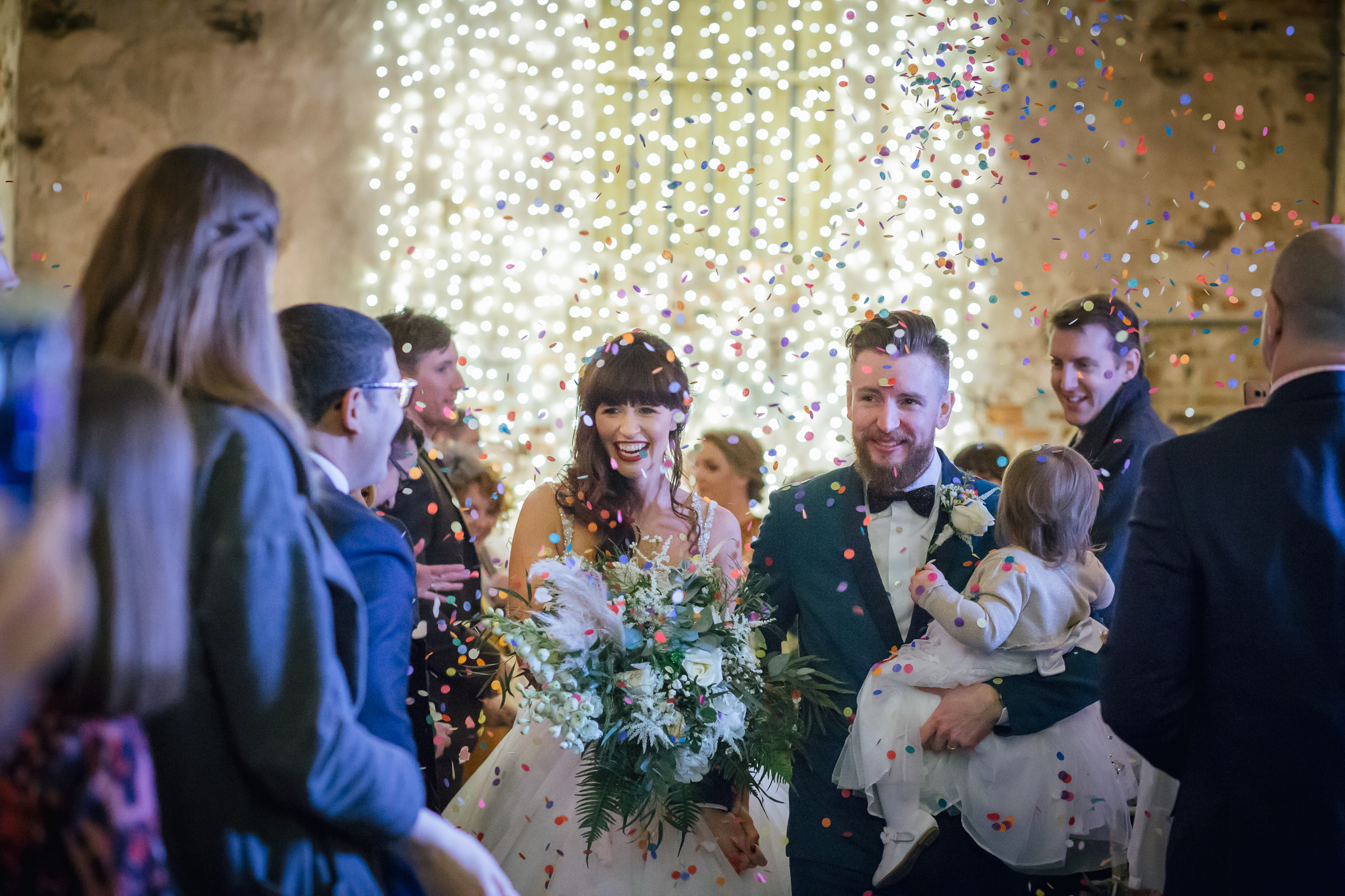 The Normans weddings confetti