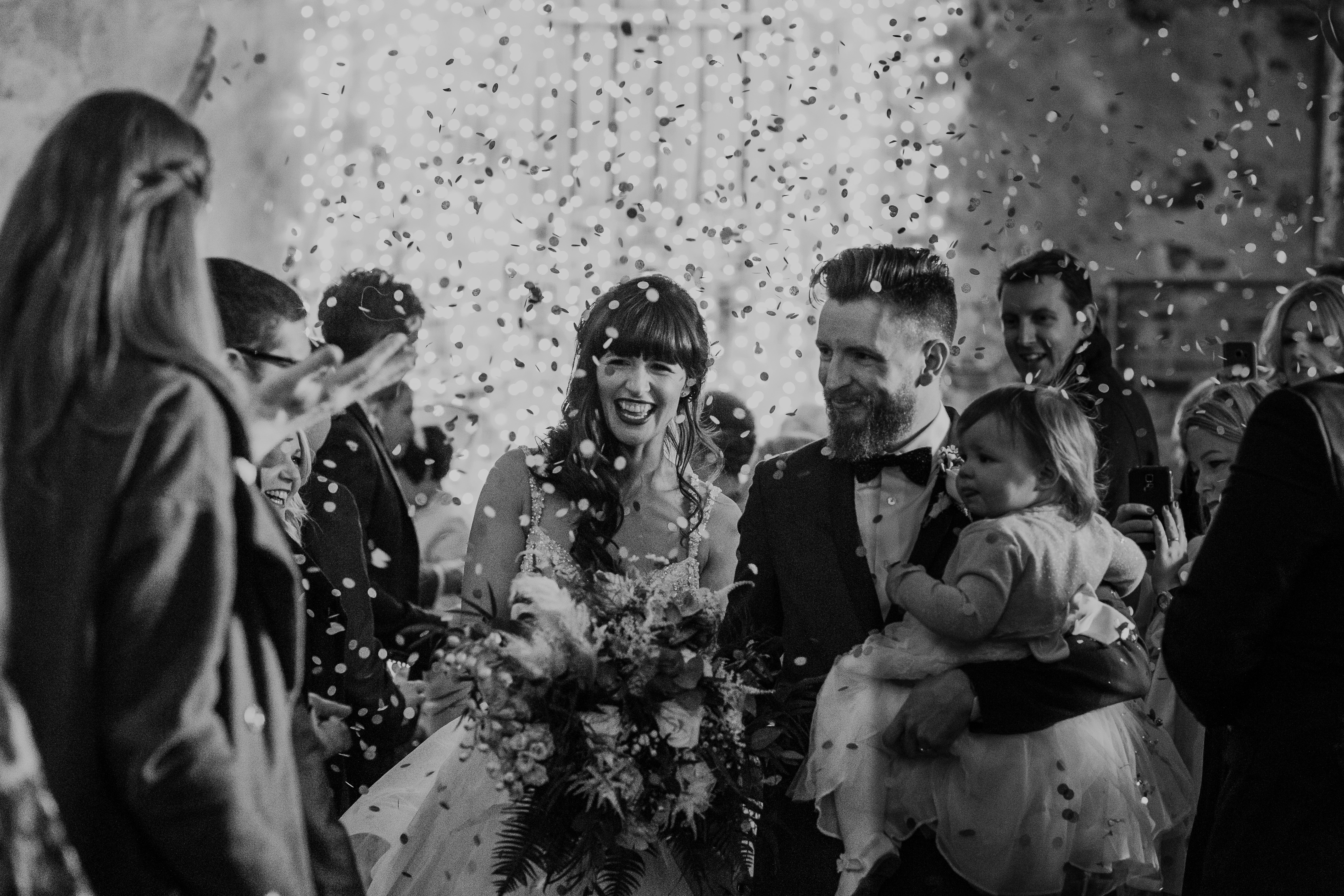 The Normans weddings confetti 2019