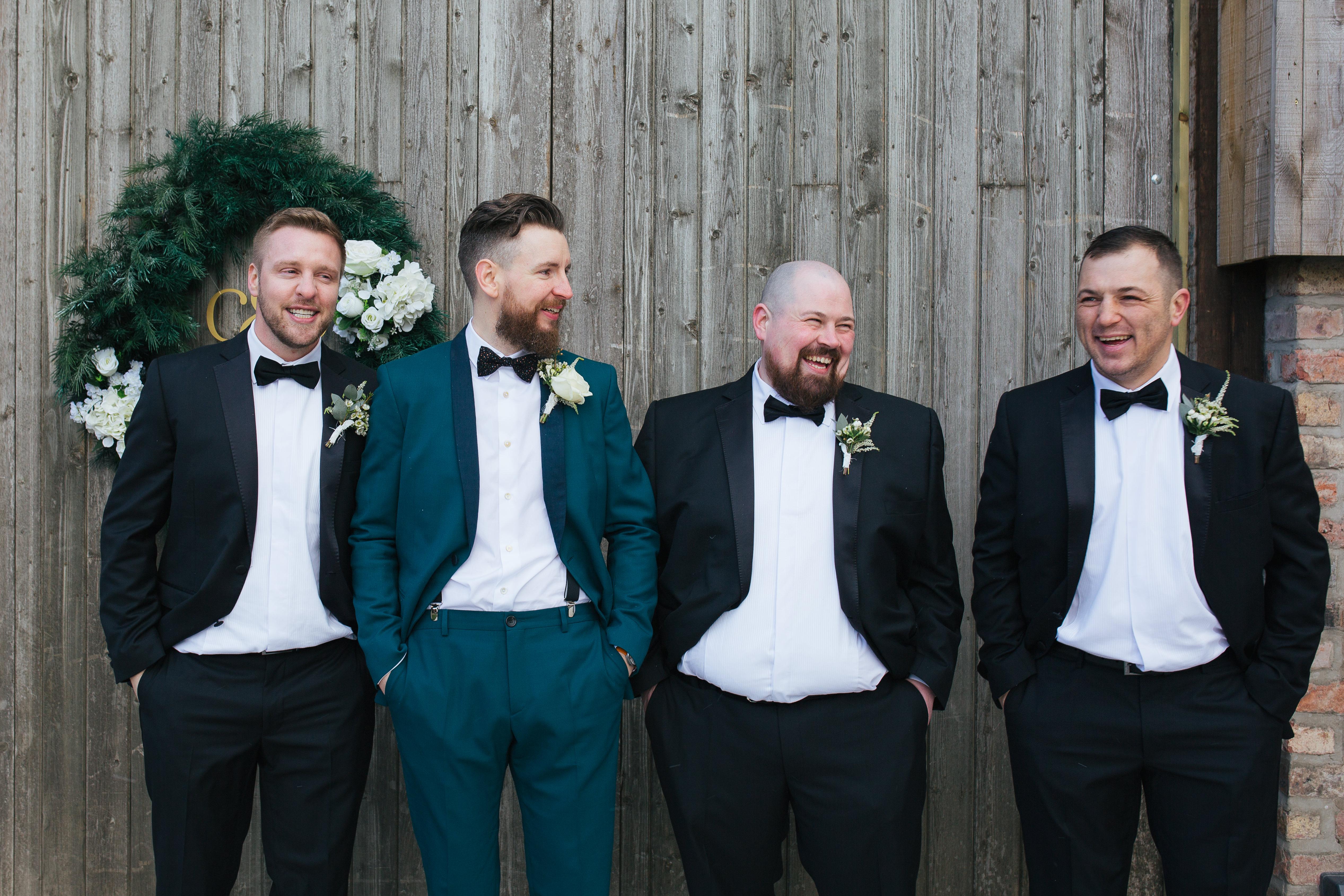 The Normans weddings groom