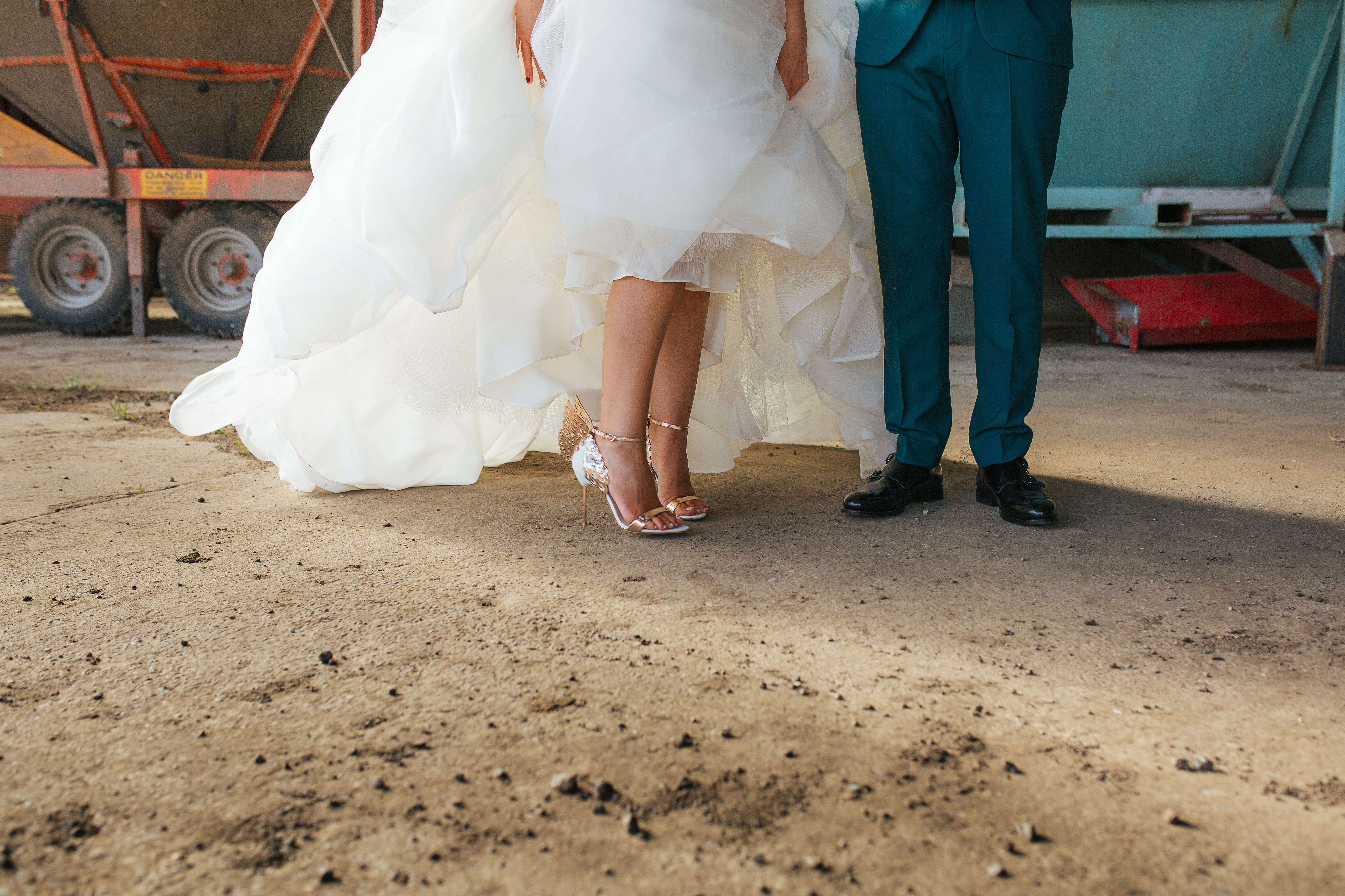 The Normans weddings shoes