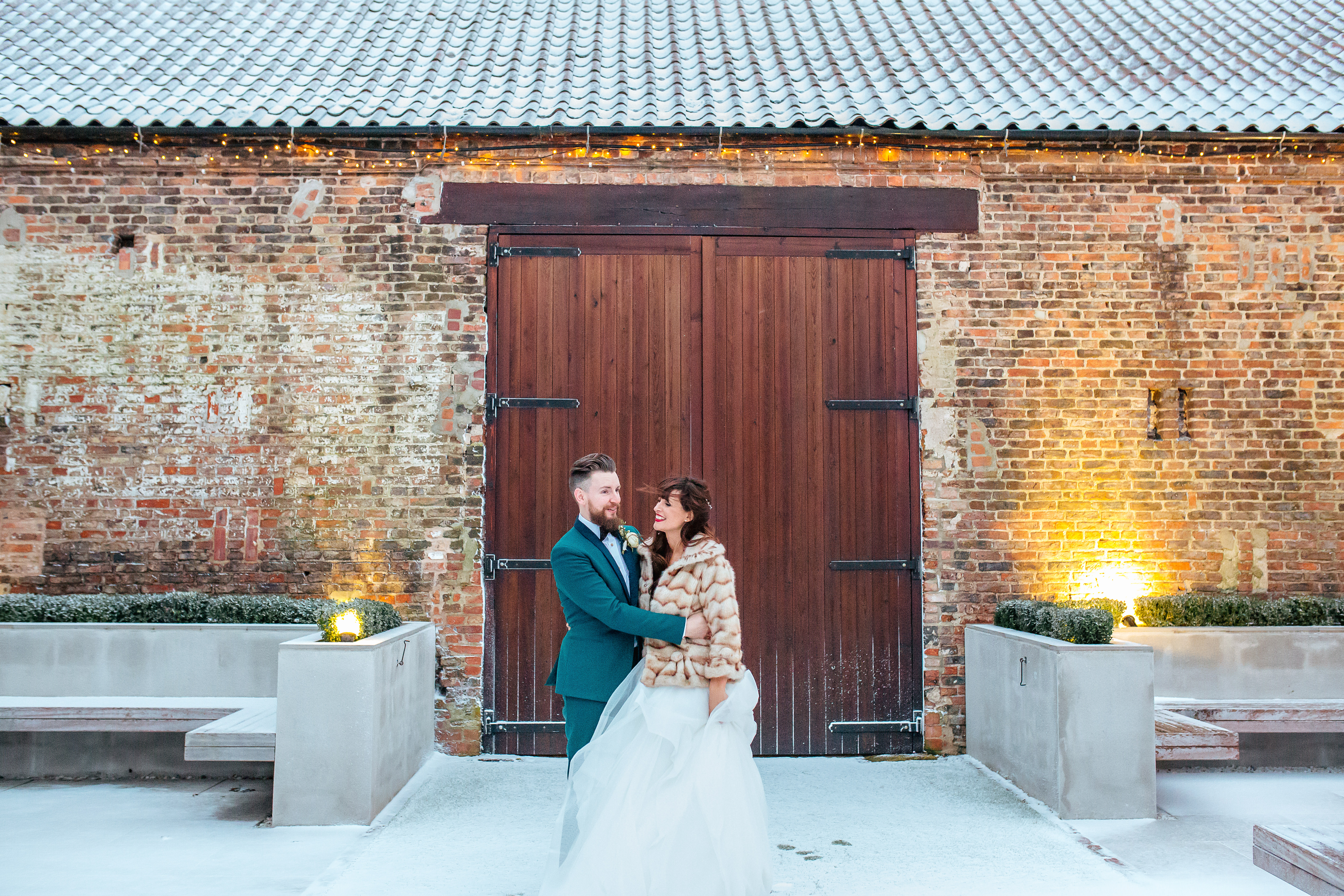 The Normans winter wedding
